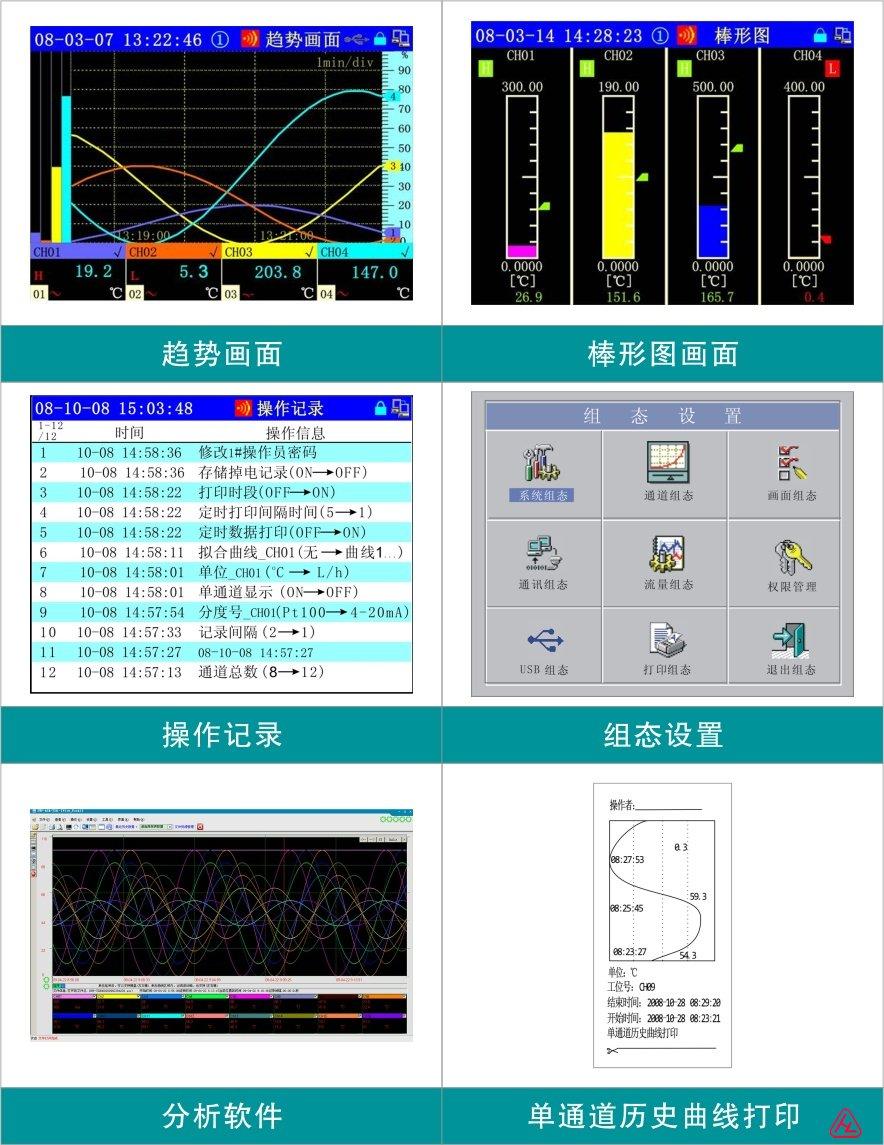SWP-ASR100系列无纸记录仪