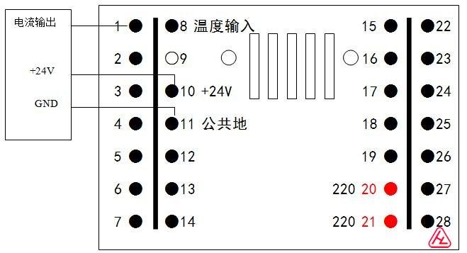 D、三线制流量变送器或差压变送器的接线方法