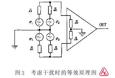 电磁流量计抗干扰电路图