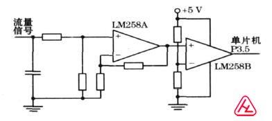 智能涡轮流量计流量测量电路原理图.jpg
